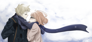 Mirai and Akihito - Winter Time. by WhitedoveHemlock