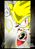 Super Sonic the Hedgehog by Haysey84