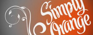 Simply Orange Billboard Design by JustMarDesign