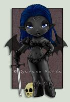 Commission: Chibi Jys'Ithra by SerenaVerdeArt