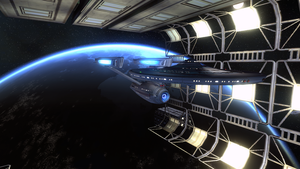 Constitution Class (Refit) by FBOMBheart