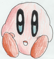 Quick Drawing - Kirby by MetaKnight2716