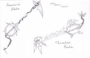 Keyblades by The-Child-of-Heart