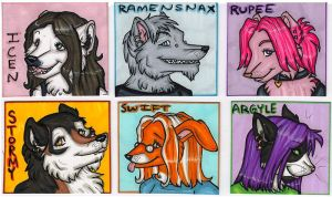 Gift Badges Dec 08 by silverwing