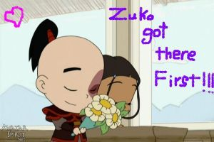 Zuko got there First by Starr-Child