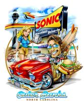 Sonic Hot Rod by obxrussell