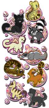 My animal  friends by chicajamonXD
