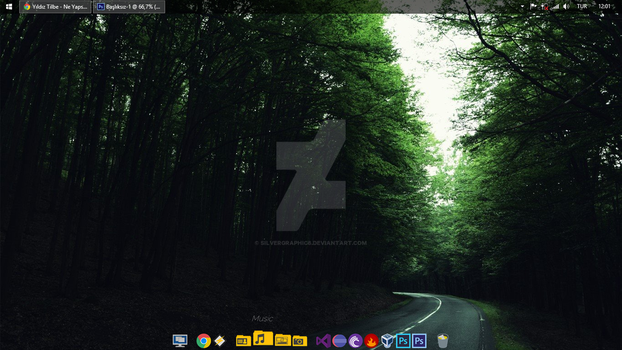 The My Developer Desktop by siLverGraphic8