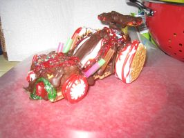 Vanellope's Cart (edible) by MF99K
