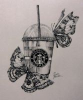 starbucks by reikomiori