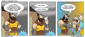 Oh Deckard Cain, you. by ierdna