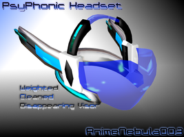 PsyPhonic Headset - AN003 by AnimeNebula003