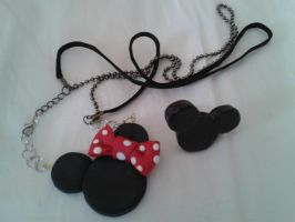Mickey and Minnie jewelry by Nakahara-Sunako
