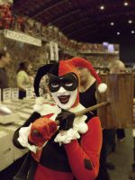 Harley Quinn LFCC 2010 by Nerdpowers