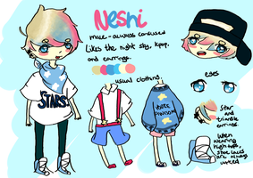 Neshi Reference Sheet by awinq