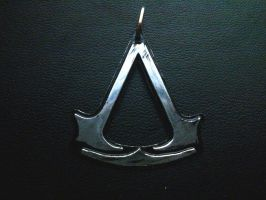 Assassins Creed Pendant - 1 by Silverthink