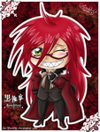 Chibi Grell Sutcliff by Isi-Daddy