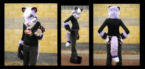 Purple Fox Partial Poses 1 by StuffItCreations