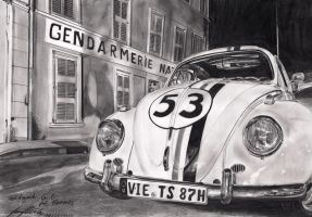 Driving School Herbie -  CM by Lowrider-Girl