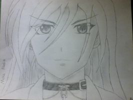 Moka Akashiya drawing by mrrightlyrics