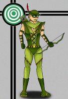 Green Arrow by Flash-of-Lingt