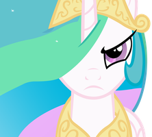 Celestia Will Protect Her Subjects w/o Background by craftybrony