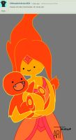 QAQ 1 Flame princess by artsmsh