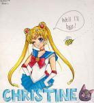 -: Well I'll be Sailor Moon :- by pinky-ichigo