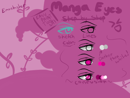 PaintToolSAI: Anime Eye tut by Emonkster