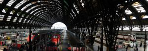 Milano Train Station by TanBekdemir