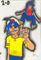 2-D by victorsk8man