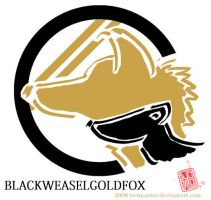 black weasel gold fox by twtmaster