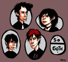 The Goth Kids by Redzs96