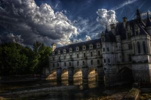 Chateau de Chenonceau HDR by thren0dy
