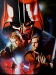 Revenge of the Sith -Oil painting by CiaraMcAvoy