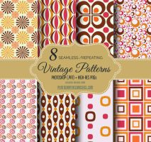 8 Vintage Repeating Background by fiftyfivepixels