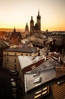 Roofs and Towers by photo-exile