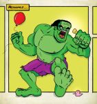 Meanwhile ... HULK by 8ball-coat
