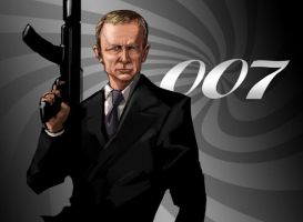 James Bond by pungang