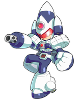 Commission: Orbit Man by ultimatemaverickx
