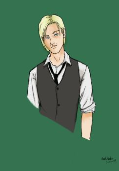 Young Master Malfoy by rideaseeker629