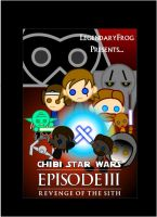 Chibi Star Wars III Poster by LegendaryFrog