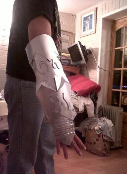gokudera vongola gear arm by lotrwofr