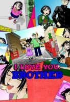 I love you brother colouring by Pilica