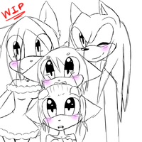 .:: SAY CHEESE AND MERRY CHRISTMAS::. WIP by Bluu-Blaze