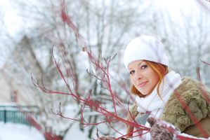 Lidia in Winter 1 by SmileyG
