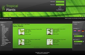 Tropical Website by thierry-eamon