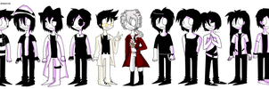 Male OCS by XDemiseEmoGirlX