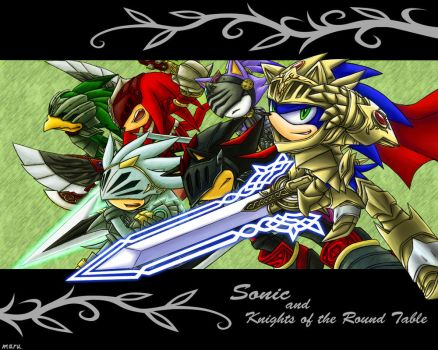 Sonic and the Knights of Round by maruringo