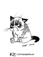 Grumpy Cat 06 2013 by Keymagination